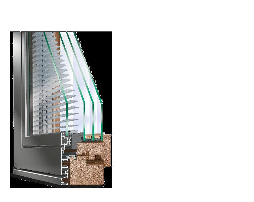 Holz-Aluminium Fenster IDEAL SOMBRA von IDEAL Weinstock